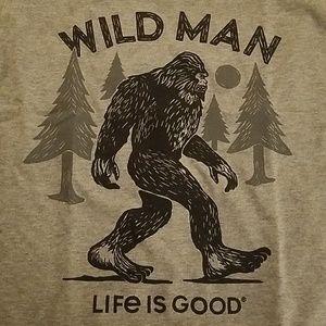 Boys Life is Good Wild Man T Shirt